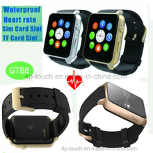 Waterproof Smart Watch with Heart Rate Tracking GT88