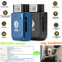 Eash Install Obdii GPS Tracker for Vehicle/ Motorcycle (T206)