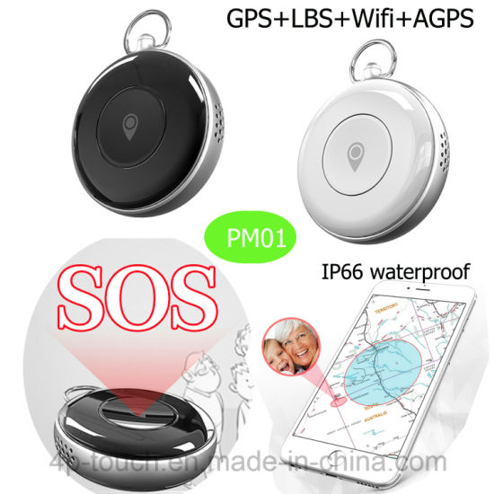 Nano SIM Card GPS Tracker with Geo-Fence and Sos PM02