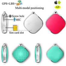 Micro SIM Card Mini GPS Tracker for Person/Cat/Pet (A9)