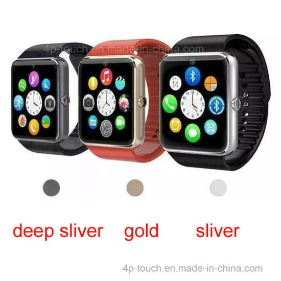 Touch Screen Bluetooth Smart Gift Watch with G-Sensor GT08