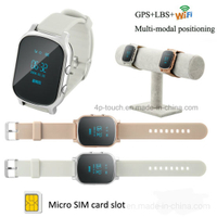 Elderly GPS Tracking Watch with Sos Button T58
