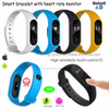 Promotion Gift Smart Silicone Bracelet with OLED Display M2