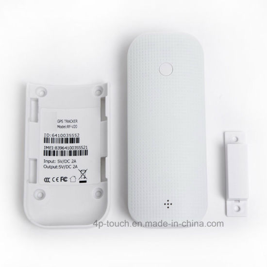 Mini GPS Tracker for Personal with Door Burglar and Power Bank (V20)
