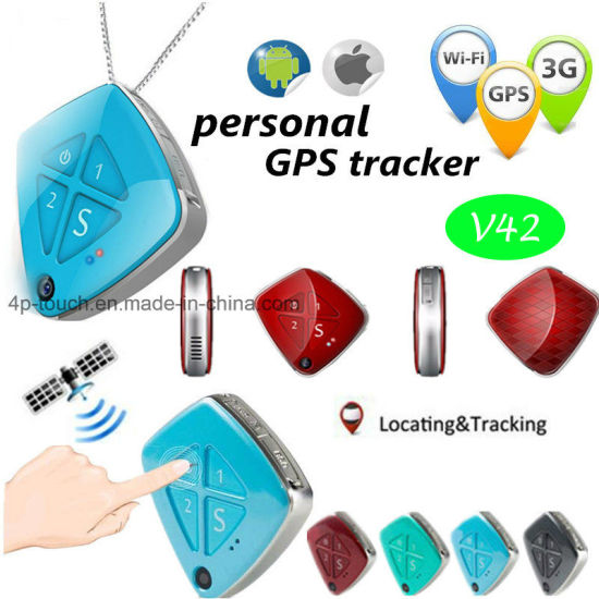 Mini 3G GPS Tracker with Camera and Fall Down Alarm (V42)