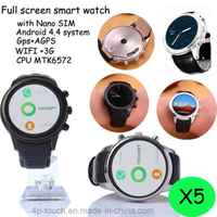 3G Smart Watch Phone with GPS Navigation and WiFi (X5)