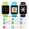 Newest Bluetooth Smart Watch Phone with 1.54′′ Touch Screen (A1)