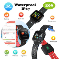TFT Screen Bluetooth Smart Bracelet with heart rete monitor E09