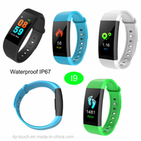 Hot Selling Smart Bracelet with Heart Rate Monitor I9