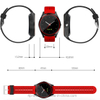 Round screen hot Selling Smart Bluetooth Watch Phone with Camera W9