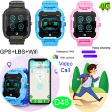 2019 New 4G GPS Smart Watch with Individual Video Call D48