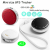 Sos Call Mini Personal GPS Tracker with Time Display A12