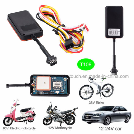 Waterproof Mini Automotive Car GPS Tracker with Fuel Sensor T108