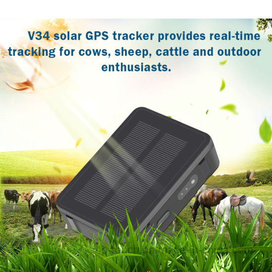 9000mAh Large battery capacity waterproof Vehicle GPS Tracker with Geo-fence alarm V34