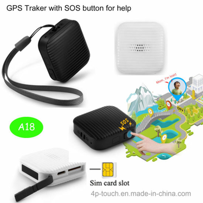 Mini Personal Key Pendant GPS Tracker with Sos Button (A18)