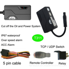 Fleet Vehicle Tracking GPS with Overspeed Alarm T311