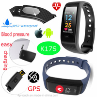 Waterproof Sport Wristband Smart Bracelet with Fitness Tracker K17S