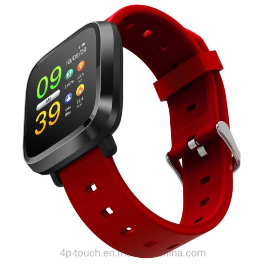 Heart Rate Monitor Bluetooth Smart Bracelet with TFT Screen E09