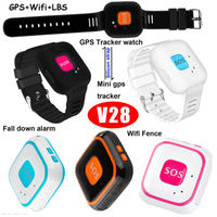 WiFi Positioning Mini GPS Tracker with multiple accurate positioning V28