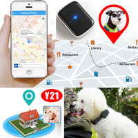 Sos Button Waterproof Pet Mini GPS Tracker with Geo -Fence Y21