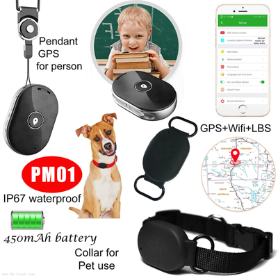 Pet GPS Tracker waterproof with Panic Sos Button PM01