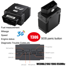 3G Simple Fuel Monitoring Car OBD GPS Tracker T306
