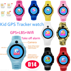 Cheap Kid GPS Watch Tracker with Geo-Fence and Voice Chatting (D14)