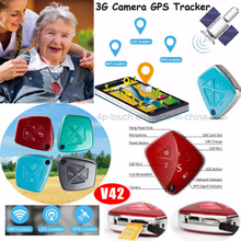 3G Network Elderly GPS Tracker with Camera (V42)