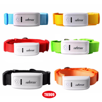 Newest Mini GPS Tracker for Cat/Dog with Multi-Color Collar Tk909