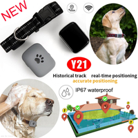 GPS Tracker for Dog/Cat with 1000mAh Long working hours (Y21)