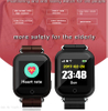 Large battery capacity adult GPS Tracking Smart Watch with Fall Down Alarm D28
