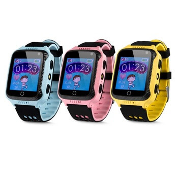 1.4inch TFT touch screen Kids GPS Tracker Watch with Geo-fence D26c
