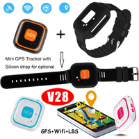 Kids Mini GPS Tracker with multiple accurate positioning V28