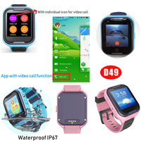 Waterproof 4G Kid GPS Tracker with Individual Video Call (D49)