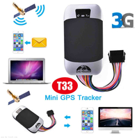 3G WCDMA Car GPS Tracker for Fleet Management T33