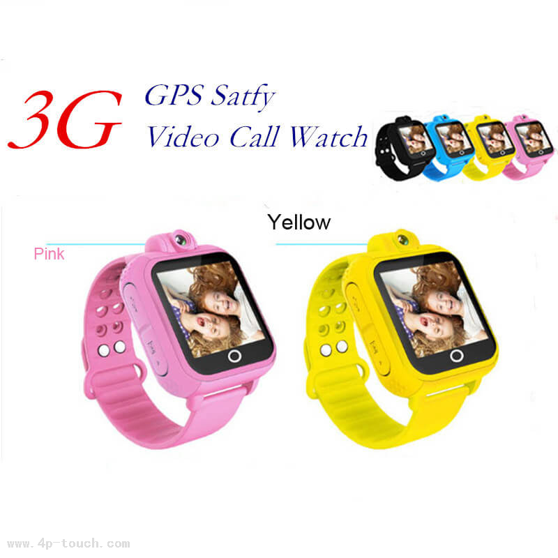 3G Android Dual Core GPS Watch with Voice Call D18s