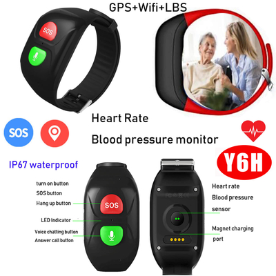 New Waterproof GPS Smart Bracelet with Blood Pressure monitor Y6H