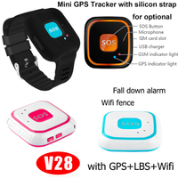 Elderly GPS Personal Tracker with Fall Down Alarm V28