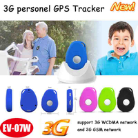 3G IP66 waterproof GPS Tracker with Sos Panic Emergency call & Fall Down Alarm EV07W