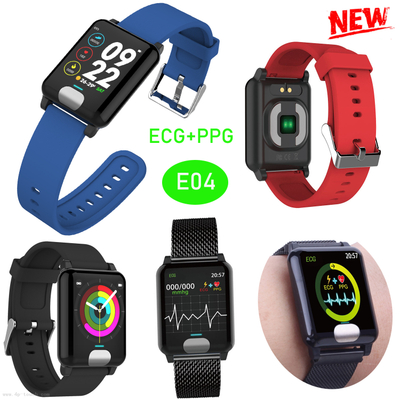 ECG Smart Bluetooth Wristband with Bpm+Heart Rate E04