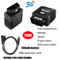 Real Time Tracking OBD 2 Car GPS Trackers T306