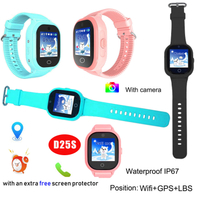 IP67 Waterproof GPS Tracking Watch System with Two-Way Communication Call D25s
