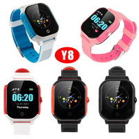 New Design Waterproof IP67 GPS Watch Tracker for Kids Y8
