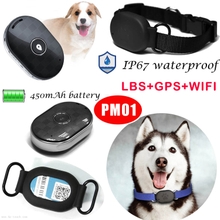 GPS+Lbs Pet GPS Tracking Device with Panic Button Pm01