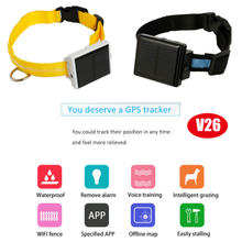 Solar GPS Tracker for Sheep/Cow with IP66 Waterproof (V26C)