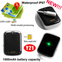 Waterproof IP67 GPS Tracking Device for Emergency Y21