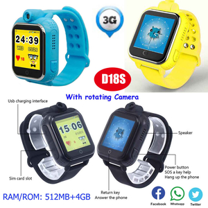 Newest 3G Kids GPS Tracker Watch with large capacity memory D18s