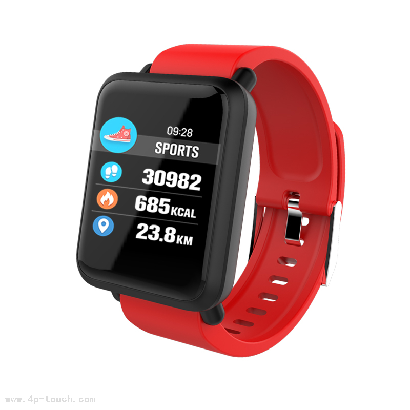 Bluetooth IP67 Waterproof Smart Bracelet Tracker with Blood Pressure Monitor M28