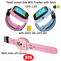 Kids Smart GPS Tracker watch with Two-Way Communication Call D26