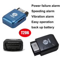 Anti-Theft Mini GPS OBD2 GPS Tracker with Speed Alarm T206